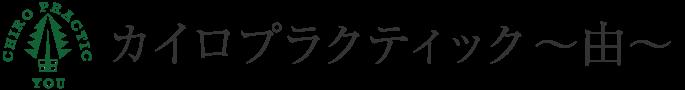 カイロプラクティック〜由〜